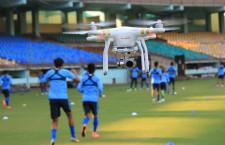 Labdarúgás: drónokkal a jobb csapatteljesítményért