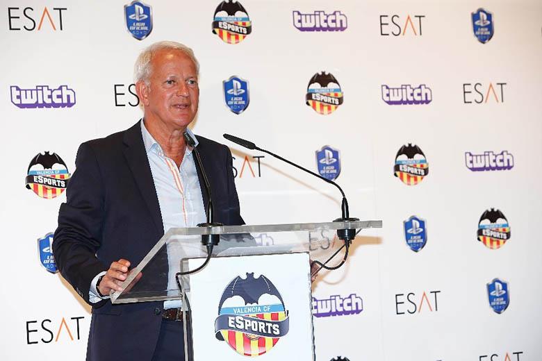 Peter Draper, a Valencia marketing igazgatója
