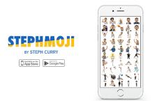 Az NBA-döntőre megérkeztek Stephen Curry egyedi emotikonjai