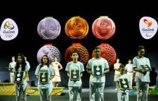 Bemutatták a riói olimpia érmeit