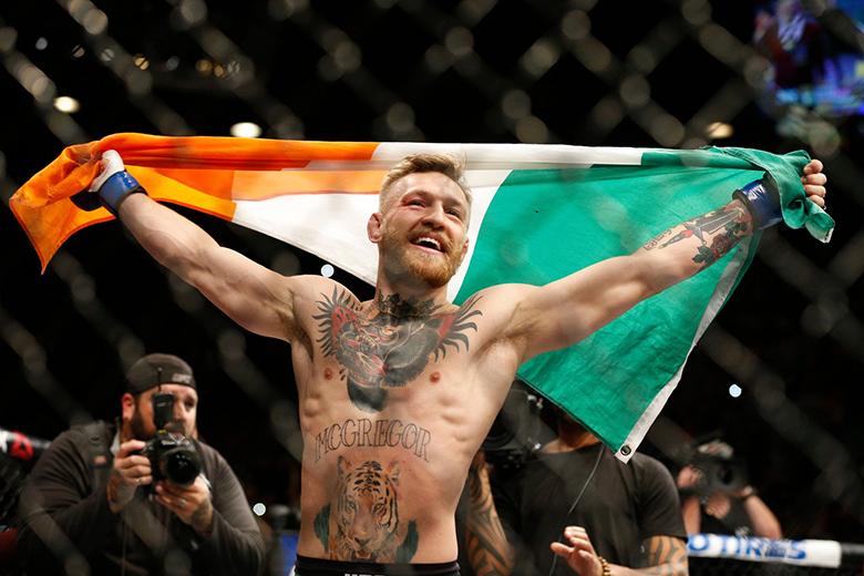 Conor McGregor, a UFC egyik legnagyobb sztárja