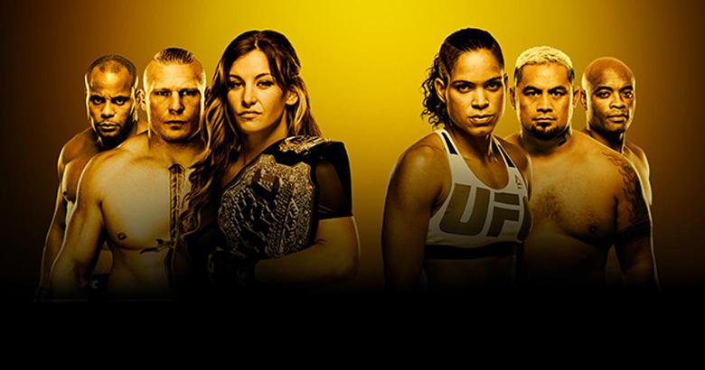 Az UFC 200 rendezvény plakátja