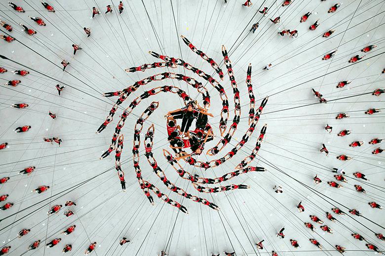 A 2014-es nanjingi ifjúsági olimpia megnyitója.