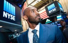 Kobe Bryant a New York-i tőzsdén