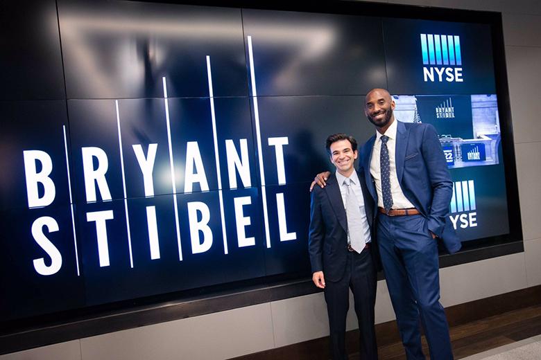 Jeff Stibel és Kobe Bryant