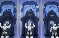 Emberszabású robotokkal dobja fel a szurkolói élményt a Manchester City