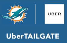 Az Uber szállítja a szurkolókat a Miami Dolphins meccseire