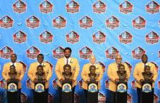 Korábbi NFL-sztárok beiktatása a Hírességek Csarnokába