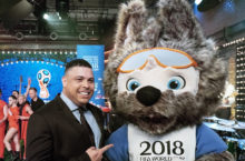 Bemutatták a 2018-as labdarúgó világbajnokság kabalafiguráját