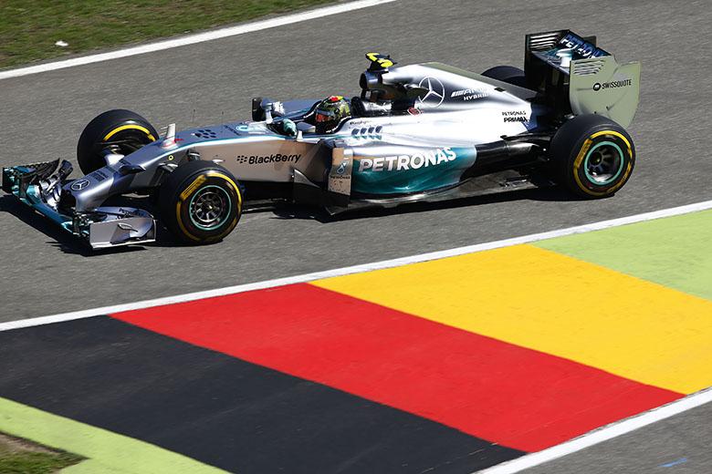 Nico Rosberg a 2014-es Német Nagydíjon