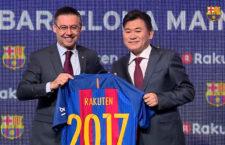 Japán cég lett a Barcelona új mezszponzora