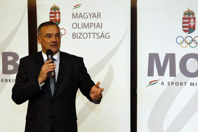 Borkai Zsolt, a MOB elnöke