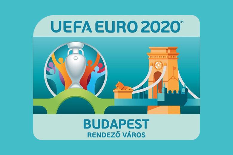 Az EURO 2020 budapesti logója