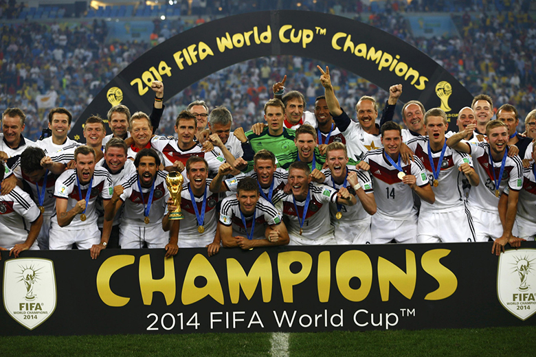 FIFA World Cup final - Germany v. Argentina