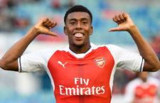 Alex Iwobi, az Arsenal fiatal nigériai tehetsége