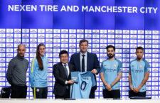A Manchester City az első Premier League klub, amelyiknek szponzora lesz a mez vállrészén