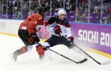 Kanada-USA mérkőzés a 2014-es szocsi téli olimpián
