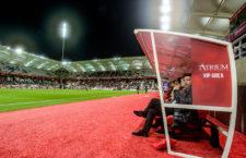 VIP-kispadot állított fel az üzleti vendégeknek a francia csapat