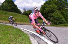 Bob Jungels lejtmenetben a 2016-os Giro D'Italián