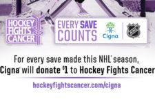Nemes ügy mozgatja az NHL és a Cigna partnerségét