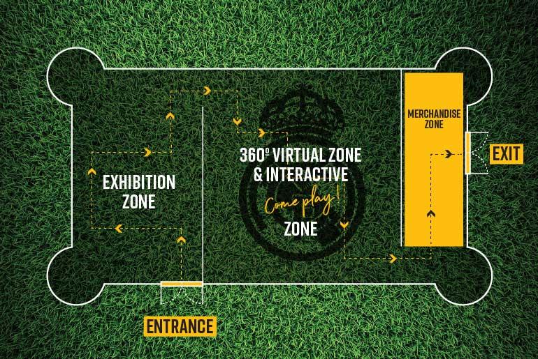 Interaktív utazó élményközpontot indít a Real Madrid a világ 15 nagyvárosába