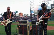 A Metallica nyitotta az estét a San Francisco Giants meccse előtt