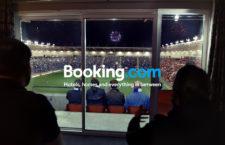 A Booking.com lett az UEFA szállásfoglaló partnere