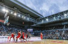 Kosárlabda mérkőzés a Hisense Arenában