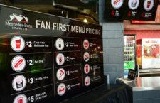 Az Atlanta Falcons levitte az étel-ital árakat az új stadionjában, mégis kifizetődő volt